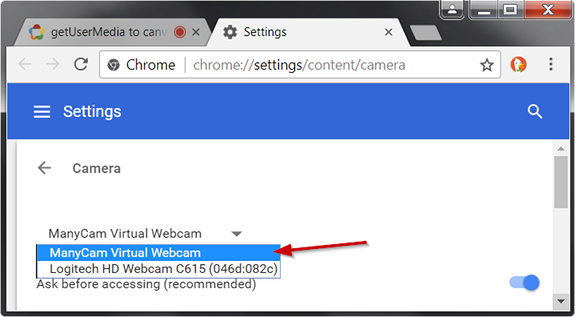 Google Chrome – ManyCam Help and Support