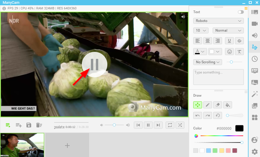 How to restart a video file from the beginning in ManyCam? – ManyCam
